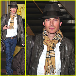 Ian Somerhalder Misses The Inauguration!