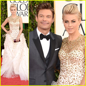 Julianne Hough: Golden Globe Awards 2013