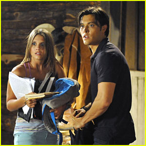 Alexandra Chando &#038; Blair Redford: Sneaky Study Date