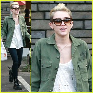 Miley Cyrus: Sharky's Take Out