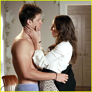 Keegan Allen: Shirtless on 'Pretty Little Liars'