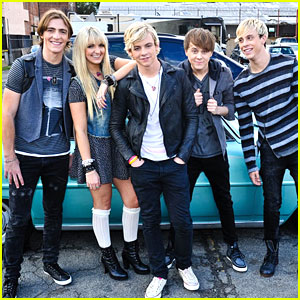 R5 - 'Loud' Video Filming Pics!