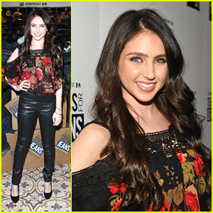 Ryan Newman: Teens For Jeans Launch