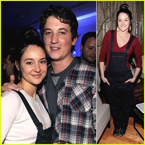 Shailene Woodley &#038; Miles Teller: 'Spectacular' at Sundance 2013