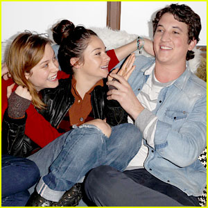 Shailene Woodley &#038; Miles Teller: Variety Studio at Sundance 2013