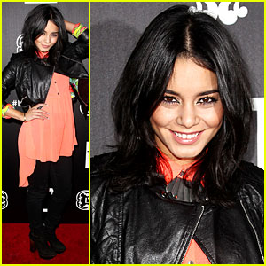 Vanessa Hudgens: New Short Hair at L'Amour Launch!