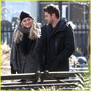 Zac Efron & Imogen Poots: Central Park 'Dating' Walk