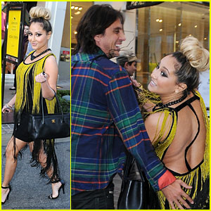 Adrienne Bailon: The Grove Gal!