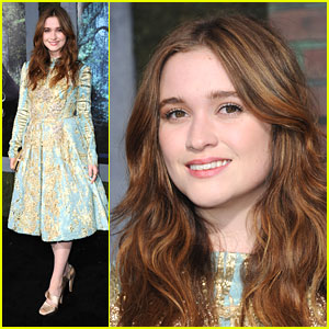 Alice Englert: 'Beautiful Creatures' Premiere!