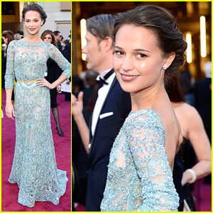 Alicia Vikander - Oscars 2013