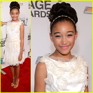 Amandla Stenberg: NAACP Image Award 2013
