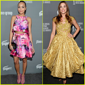 Ashley Madekwe &#038; Christa B. Allen: Costume Designer Awards 2013