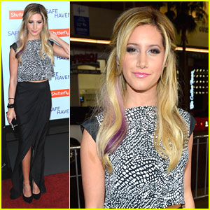 Ashley Tisdale: 'Safe Haven' Premiere Pretty
