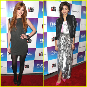 Bella Thorne & Zendaya: Friends & Family Grammy Party Pair