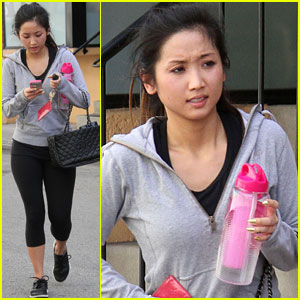 Brenda Song: Sunday Gym Stop