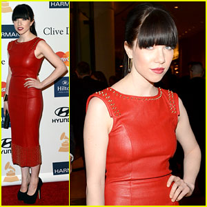 Carly Rae Jepsen: Clive Davis Pre-Grammy Gala 2013!