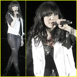 Carly Rae Jepsen: Liverpool Concert Pics!