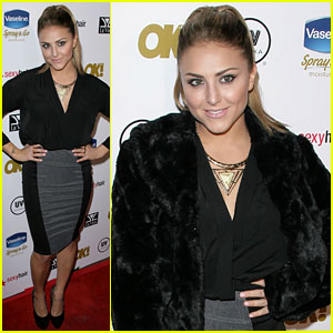 Cassie Scerbo: OK Magazine Pre-Oscar Party