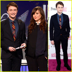 Daniel Radcliffe: Independent Spirit Awards 2013