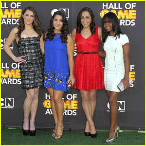 McKayla Maroney & Gabby Douglas Got Game at Hall of Game Awards 2013