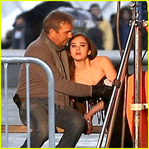 Hailee Steinfeld Films 'Three Days to Kill' in Paris
