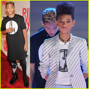 Jaden & Willow Smith: BET's Rip the Runway