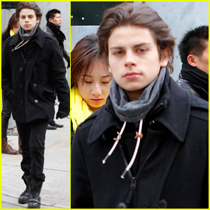 Jake T. Austin: Back in the Big Apple!
