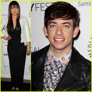 Jenna Ushkowitz &#038; Kevin McHale: Inaugural PaleyFest Icon Award Event