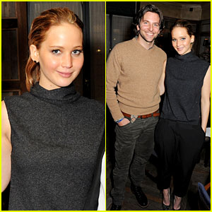 Jennifer Lawrence: 'Silver Linings Playbook' Dinner!