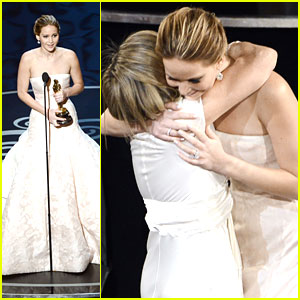 Jennifer Lawrence: Oscars 2013 Best Actress Winner!