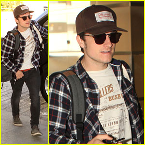 Josh Hutcherson: Off To The Super Bowl!