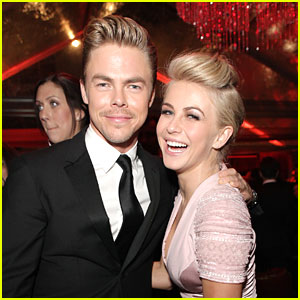 Julianne & Derek Hough Develop Dark Dancing Drama 'Blackpool' with Starz