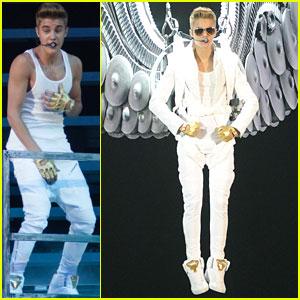 Justin Bieber: Manchester Concert Pics!