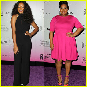 Keke Palmer & Amber Riley: 'Essence' Black Women In Music 2013