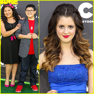 Laura Marano: Hall of Game Awards 2013 with Rico &#038; Raini Rodriguez