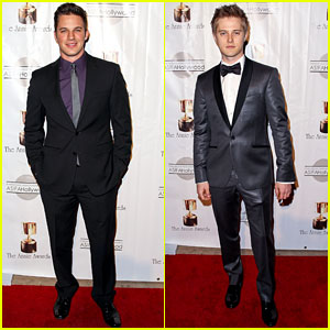 Matt Lanter & Lucas Grabeel: Annie Awards 2013