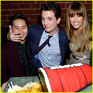 Miles Teller: '21 And Over' Birthday Surprise!