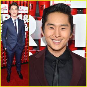 Miles Teller: '21 & Over' Premiere with Justin Chon!