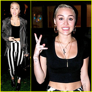 Miley Cyrus: Shooting A