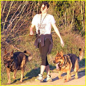 Nikki Reed: Hollywood Hills Hike
