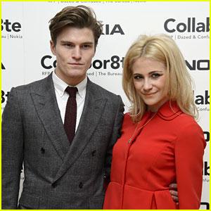 Pixie Lott & Oliver Cheshire: Rankin's Collabor8te Connected Event