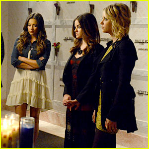 Lucy Hale: The Liars Say Goodbye To Ali Again