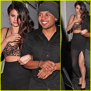 Selena Gomez: Post-Grammy's Party with Alredo Flores!