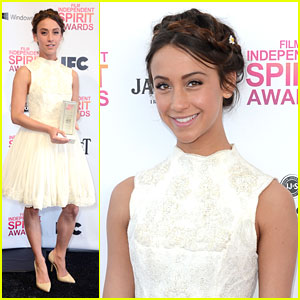 Stella Maeve: Independent Spirit Awards 2013