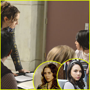 Troian Bellisario on the Spencer/Mona Fight on PLL: 'It Felt Great!'