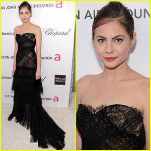 Willa Holland: Elton John Oscar Party 2013