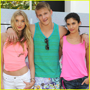 Alexander Ludwig: Victoria's Secret PINK Spring Break Dance Party!