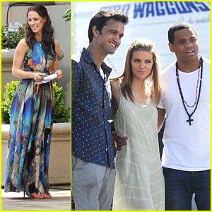 AnnaLynne McCord: Final Days On '90210' Set