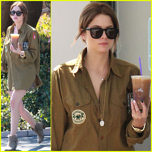 Ashley Benson: Coffee Cutie!