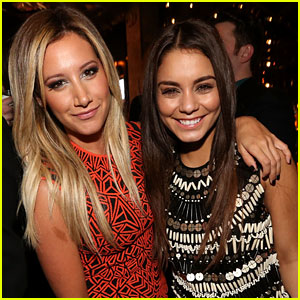 Ashley Tisdale &#038; Vanessa Hudgens: 'Spring Breakers' After Party Pair